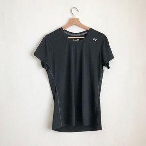Under armour blouse black athletic size large